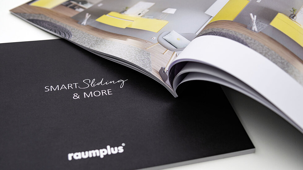Brochure, raumplus, products, variety