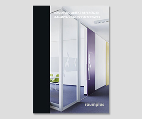 brochure, office references, partioning walls, room division